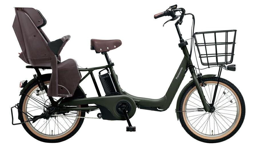 電動自転車 パナソニック Panasonic ギュット アニーズ 20インチ 電動アシスト自転車 2018年モデル BE-ELA03AG マットディープグリーン 緑