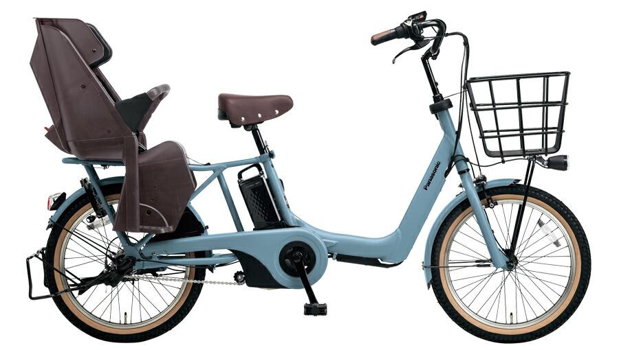 【最大21倍!エントリで! 楽天スーパーSALE】電動自転車 パナソニック Panasonic ギュット アニーズ 20インチ 電動アシスト自転車 2018年モデル BE-ELA03AV2 マットブルーグレー