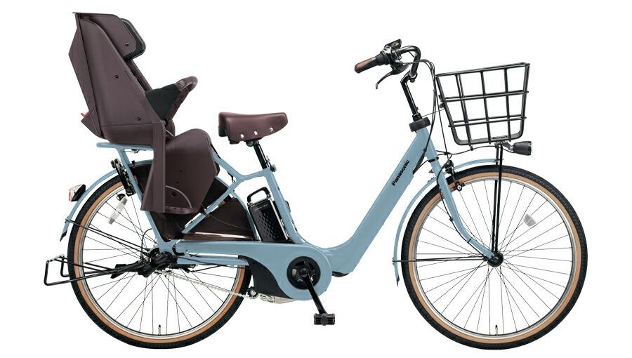 【最大21倍!エントリで! 楽天スーパーSALE】電動自転車 パナソニック Panasonic ギュット アニーズ F DX 26インチ 電動アシスト自転車 2018年モデル BE-ELA63V2 マットブルーグレー