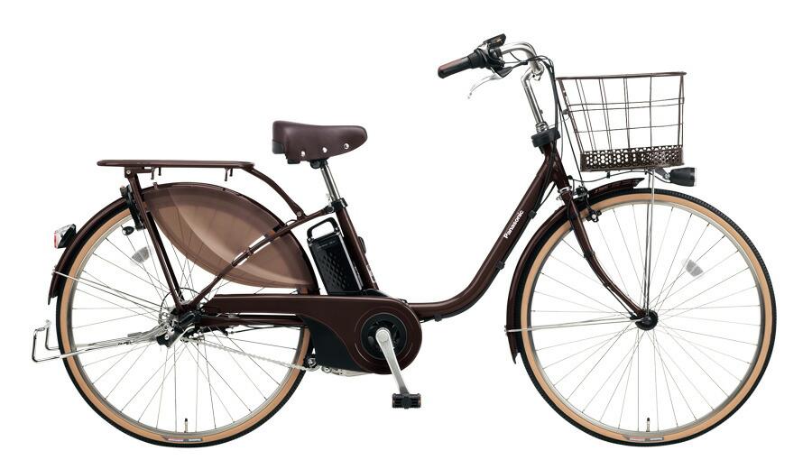 【最大21倍!エントリで! 楽天スーパーSALE】電動自転車 パナソニック Panasonic ビビスタイル 26インチ 電動アシスト自転車 2018年モデル 激安 格安 BE-ELDS634T ビターブラウン ブラウン