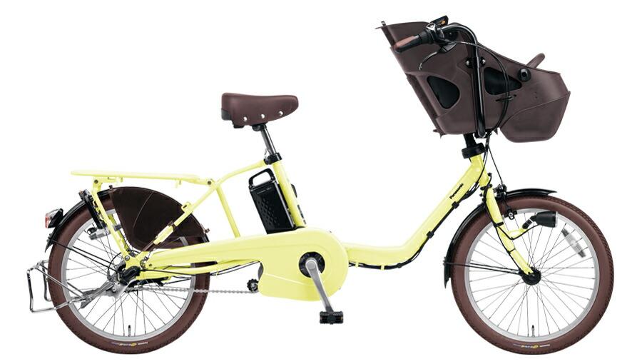 【最大21倍!エントリで! 楽天スーパーSALE】電動自転車 パナソニック Panasonic ギュット ミニ DX 20インチ 電動アシスト自転車 2018年モデル 激安 格安 BE-ELMD034Y パウダーイエロー