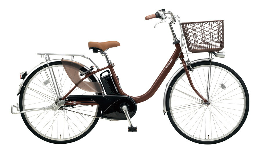 電動自転車 パナソニック Panasonic ビビ LU 24インチ 電動アシスト自転車 2018年モデル 激安 格安 BE-ELLU432T チョコブラウン