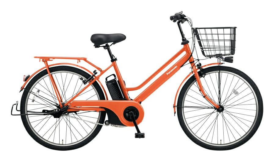 【最大21倍!エントリで! 楽天スーパーSALE】電動自転車 パナソニック Panasonic ティモ S 26インチ 電動アシスト自転車 激安 格安 2018年モデル BE-ELST633K ラセットオレンジ