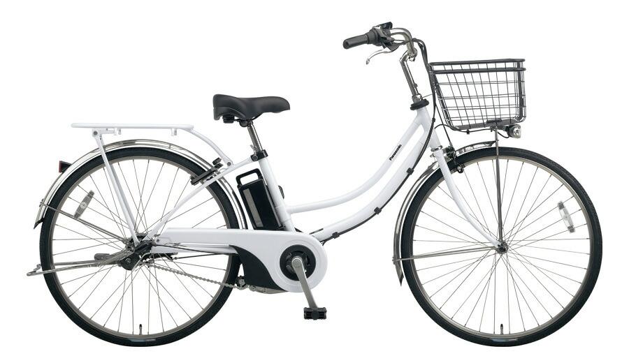 電動自転車 パナソニック Panasonic ティモ W 26インチ 電動アシスト自転車 2018年モデル 激安 格安 BE-ELWD632F2 アクティブホワイト 白