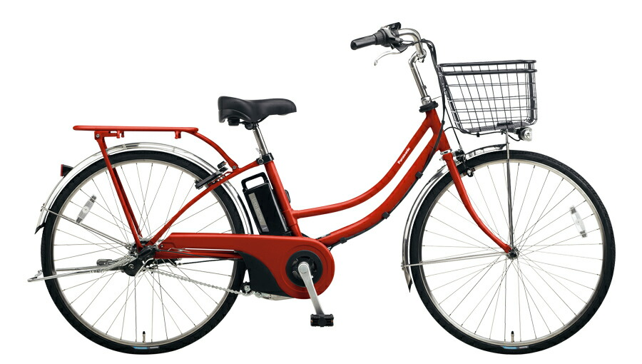 電動自転車 パナソニック Panasonic ティモ W 26インチ 電動アシスト自転車 2018年モデル 激安 格安 BE-ELWD632R2 クラシカルレッド 赤