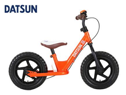 DATSUN ファーストバイク 12インチ オレンジ ダットサン キックバイク スタンド付 ブレーキ付 ペダルなし自転車 ランニングバイク バランスバイク キッズ 12インチ