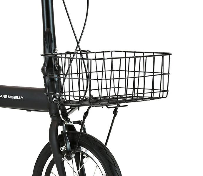 Veloline フロントキャリア&脱着式バスケット 自転車 かご 折りたたみ自転車 カゴ
