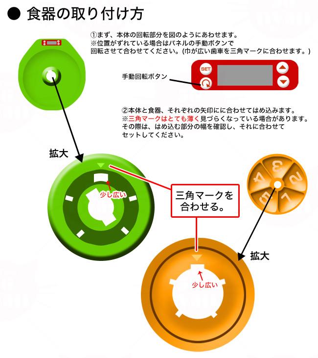 ドギーマン 楽しいおるすばんボウル 自動給餌器 電池式