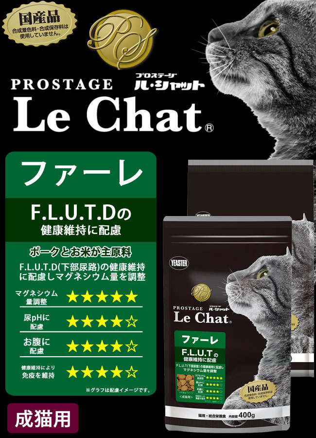 イースター プロステージ ファーレ「F.L.U.T.Dの健康維持に配慮」