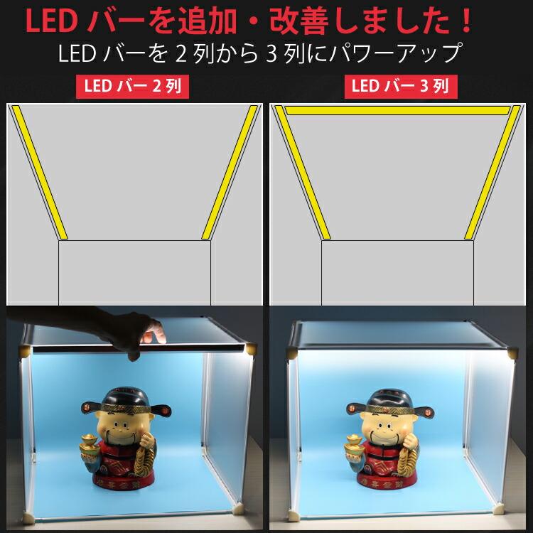 LEDバー追加採用