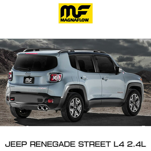 Magnaflow Cat Back Exhaust System Jeep Renegade Street L4 2 4l 19119