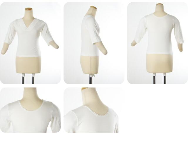 ヒート+フィット H+f 肌襦袢・肌着 M/七分袖シャツ 暖か和装インナー