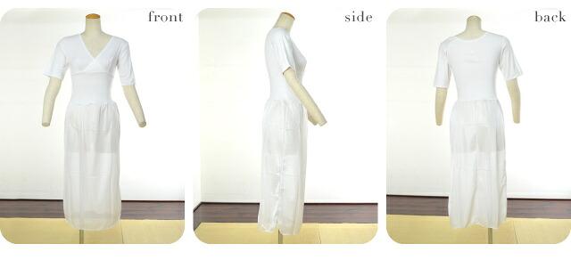 【和装下着】98803激安美容ユニペッチ ワンピース式/着物スリップ・和装スリップ M・L 和装小物