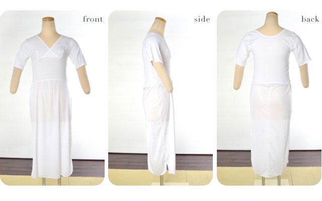 【和装下着】12激安美容ユニペッチ ワンピース式/着物スリップ・和装スリップ M・L 和装小物