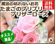 【送料無料】たまごのプリプリ★プリザーローズ Mサイズ