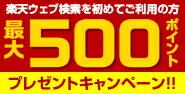 web検索 500円 常時