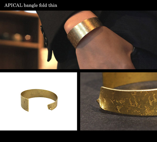 APICAL bangle fold thin