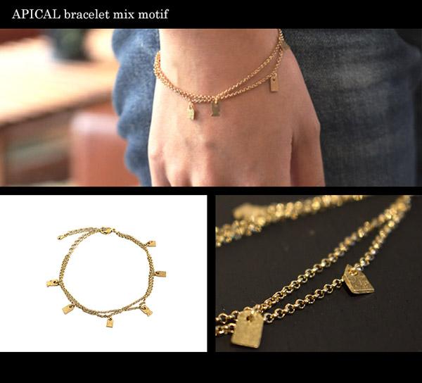 APICAL bracelet mix motif