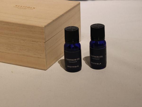 匂いが薄くなってきたらオイル(別売り)を染み込ませて繰り返しお使い頂けます。