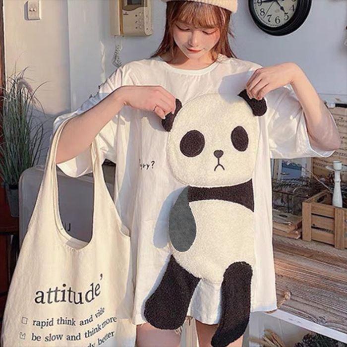 BIGシルエットが可愛いパンダTシャツのご紹介です☆彡