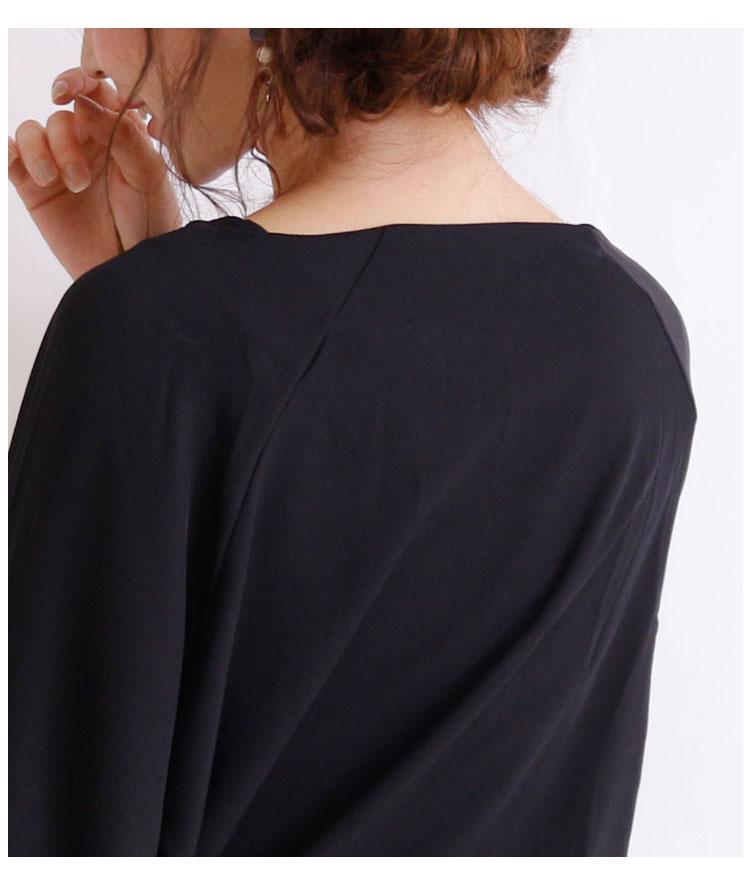 リボン付きぽわん袖のフェミニントップス【9月2日8時販売新作】