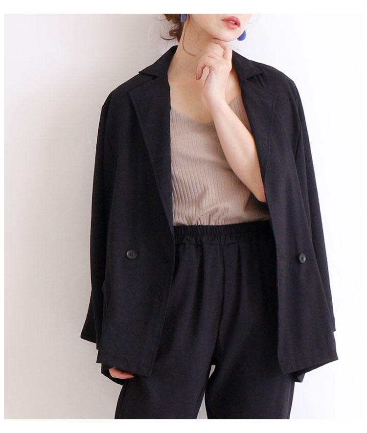 セットアップパンツスーツ上下セット【9月21日8時販売新作】