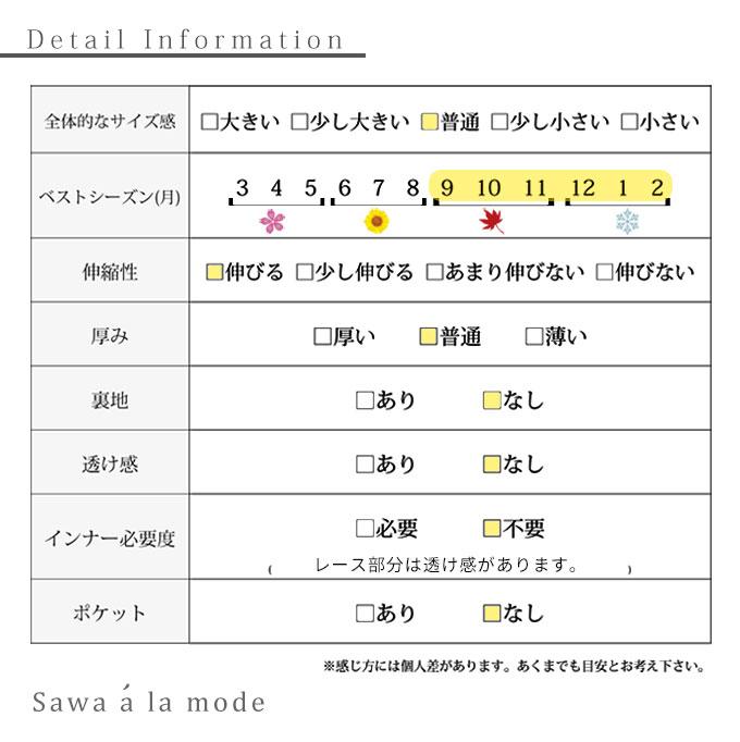 ぽわん袖レース透けるニットトップス【9月28日8時販売新作】