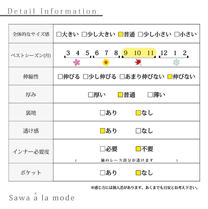 レース透けるストライプシャツトップス【2月22日8時販売新作】