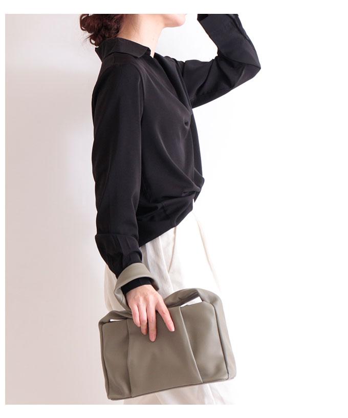 レザー調デザイン肩掛けバッグ ショルダー【4月25日8時販売新作】