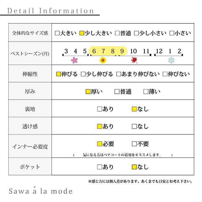 ボタニカルリーフ模様揺れるワンピース【5月18日8時販売新作】