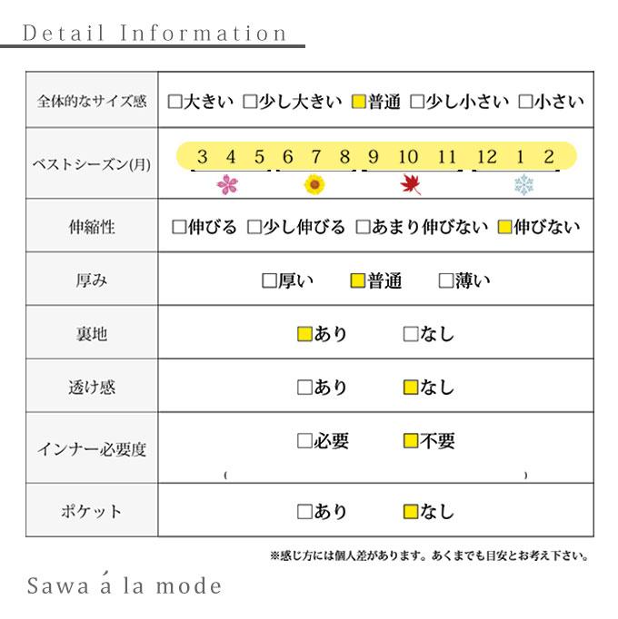 リボン刺繍のフレアAラインスカート【7月1日8時販売新作】