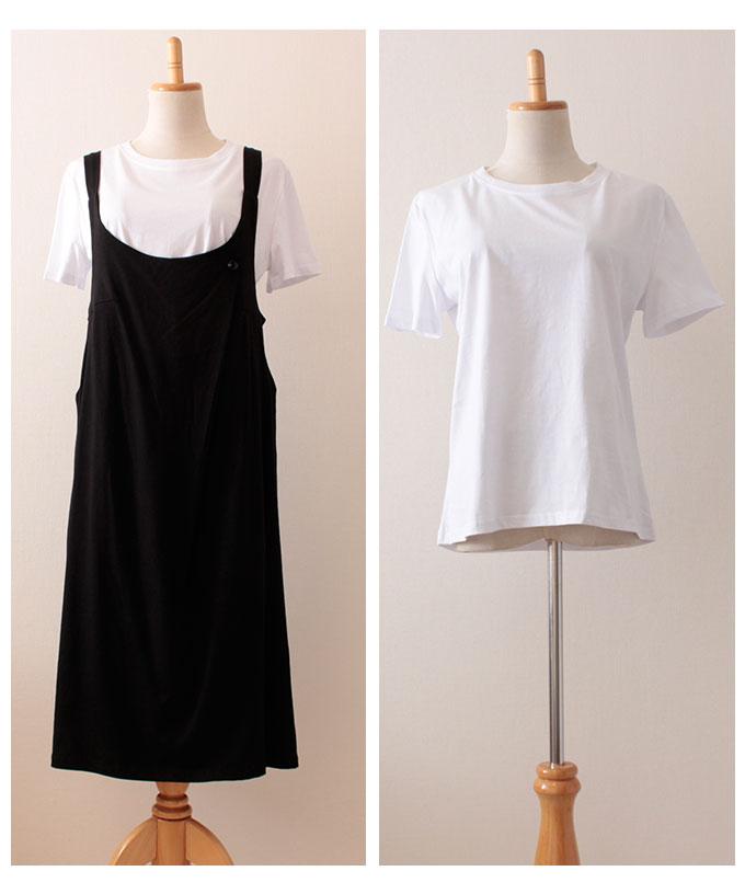 Tシャツセットのジャンパースカート【7月15日8時販売新作】
