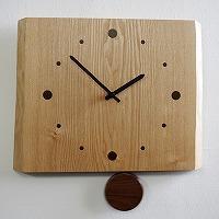 寄せ木振り子時計F12-1