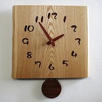 寄せ木振り子時計F25