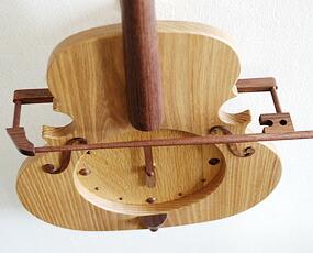 振り子時計バイオリン ニレ