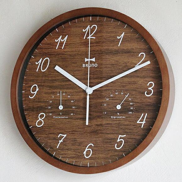 Interior Shop A Mon Wall Clock Wooden Analog Sweep