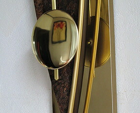 AMS 掛け時計 振り子時計 アナログ ゴールド ドイツ製 AMS7453 【期間限定30%OFF!】国内在庫 即納 (YM-AMS7453J)