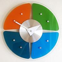 ジョージ・ネルソン掛け時計「グラス・スペクトラム」