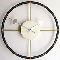 ジョージ・ネルソン 掛け時計「ステアリングクロック」