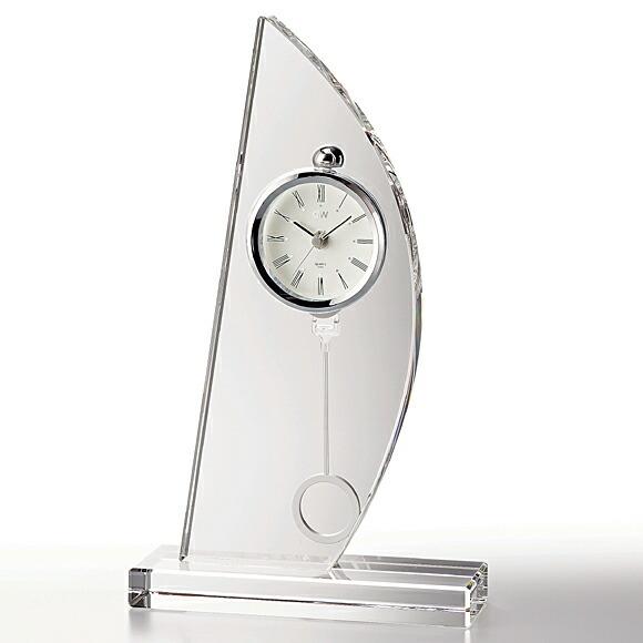 ガラス時計「スピンネーカー」
