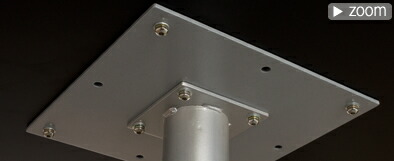 昇降式テーブル天板下詳細