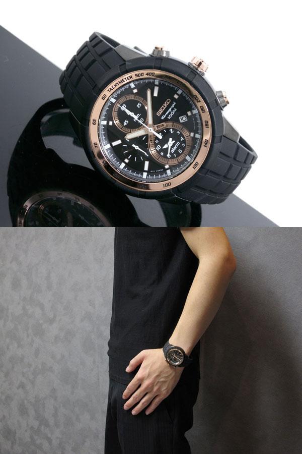 セイコー SEIKO 腕時計 クロノグラフ アラーム SNAD88P1-2