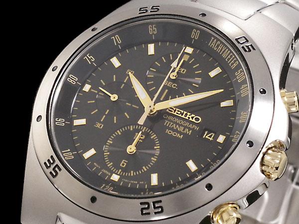 セイコー SEIKO 腕時計 チタン クロノグラフ SND451P1-1
