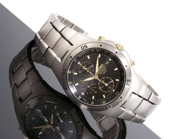 セイコー SEIKO 腕時計 チタン クロノグラフ SND451P1-2