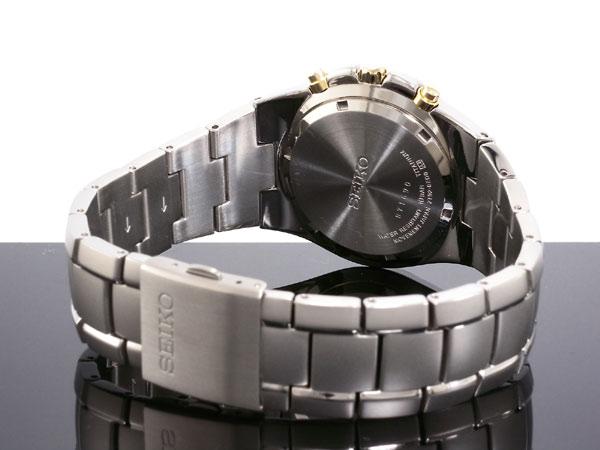 セイコー SEIKO 腕時計 チタン クロノグラフ SND451P1-3