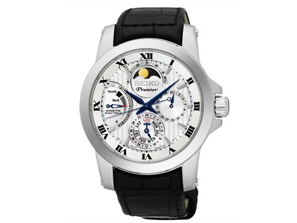 セイコー SEIKO プレミア キネティック ムーンフェイズ 腕時計 SRX011P2 メンズ-1