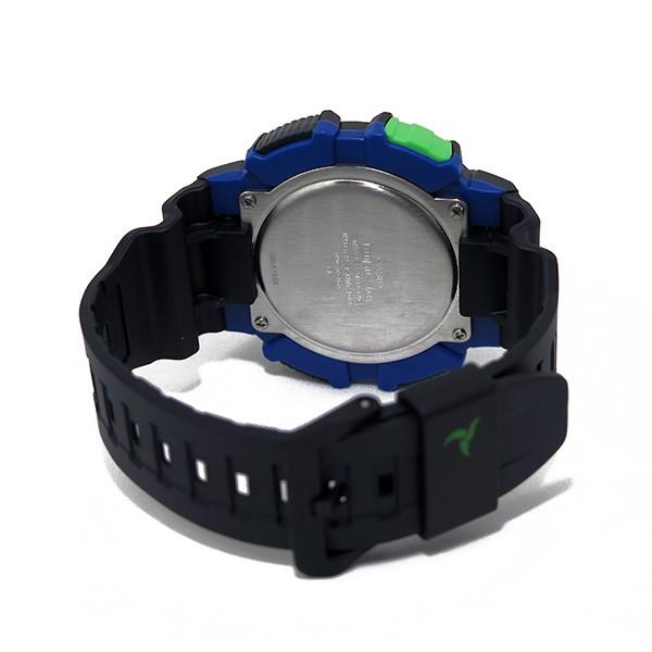 カシオ CASIO デジタルソーラー メンズ 腕時計 STL-S110H-1B ブラック/ブルー-3
