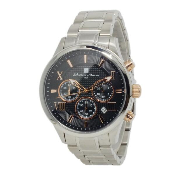 サルバトーレマーラ 腕時計 クロノグラフ メンズ SM15102-SSBKPG-2