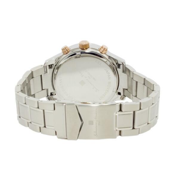 サルバトーレマーラ 腕時計 クロノグラフ メンズ SM15102-SSBKPG-3