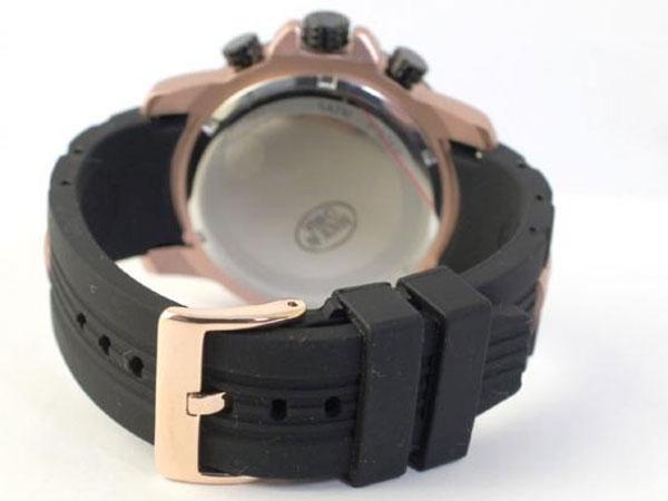 サルバトーレマーラ クロノ クオーツ メンズ 腕時計 SM15109-PGBK-3